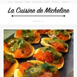 Saumon Gravlax Sauce Norvégienne - La Cuisine de Micheline