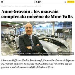 Anne Gravoin : les mauvais comptes du mécène de Mme Valls - 13 avril 2016