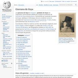 Gravures de Goya