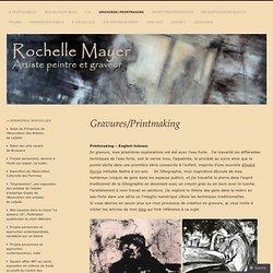 Rochelle Mayer, artiste peintre et graveur