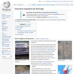Gravures rupestres de Norvège