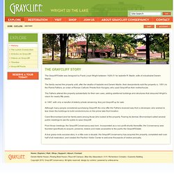 Graycliff - Wright on the Lake