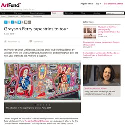 Grayson Perry tapestries to tour - News
