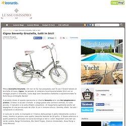 Seventy Graziella Swan, all by bike!
