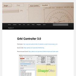 Grbl Controller 3.0