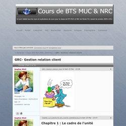 GRC- Gestion relation client