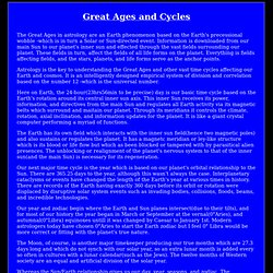 great ages and cycles