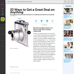 Ways to Get a Great Deal on Anything - How to Save Money