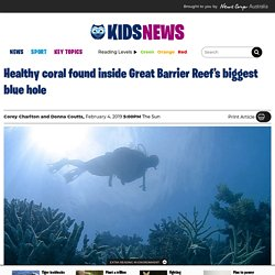 Great Barrier Reef biggest blue hole