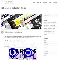 10 Great Blogs for Product Design