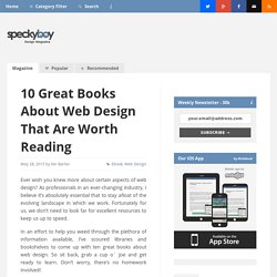 10 Great Books About Web Design That Are Worth Reading