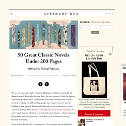 50 Great Classic Novels Under 200 Pages ‹ Literary Hub