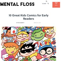 10 Great Kids Comics for Early Readers