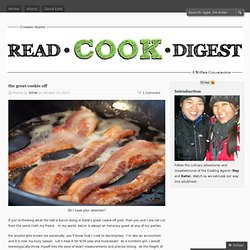 the great cookie off « read . cook . digest