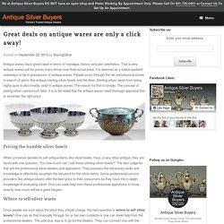 Great deals on antique wares are only a click away!