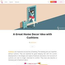 A Great Home Decor Idea with Cushions - rug house