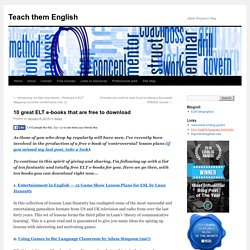 10 great ELT e-books that are free to download