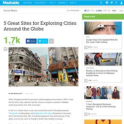 5 Great Sites for Exploring Cities Around the Globe