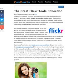 The Great Flickr Tools Collection