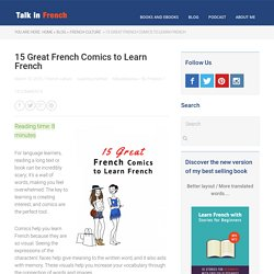 15 Great French Comics to Learn French - Talk in French