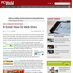 8 Great How-To Web Sites