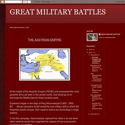 GREAT MILITARY BATTLES