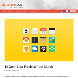 10 Great New Freebies from March
