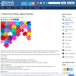7 Great Free Online Jigsaw Puzzles