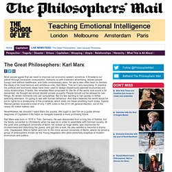 The Great Philosophers: Karl Marx