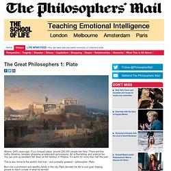 The Great Philosophers 1: Plato