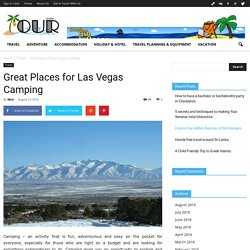 Great Places for Las Vegas Camping