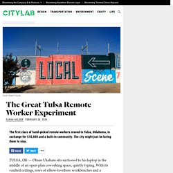 The Great Tulsa Remote Worker Experiment