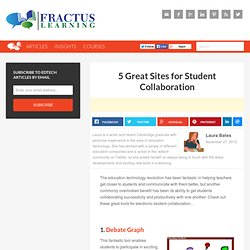 5 Great Sites for Student Collaboration