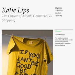 Great stuff at Innovation on the Fringe — Katie Lips