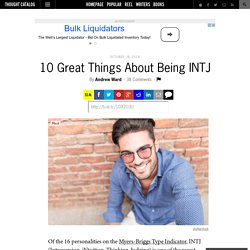 10 Great Things About Being INTJ