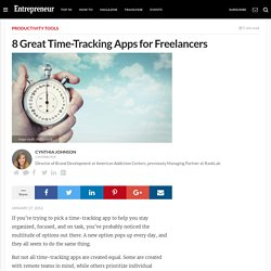 8 Great Time-Tracking Apps for Freelancers
