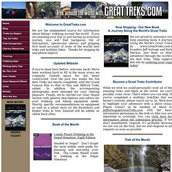 Great Treks - Home Page