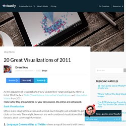20 Great Visualizations of 2011