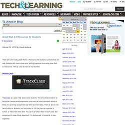 - Great Web 2.0 Resources for Students