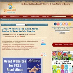 Great Websites for Read Aloud Books & Read to Me Stories