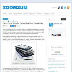 Top 15 Great Websites To Download Best Free eBooks