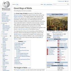 Siege of Malta (1565)