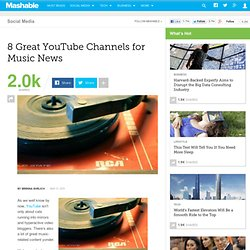 8 Great YouTube Channels for Music News