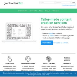 greatcontent.co.uk – unique and quality content for your website