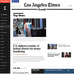Los Angeles Times -- California, Southern California News
