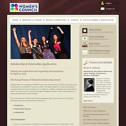 Greater Rochester Women's Council - YWOD | Nomination Award