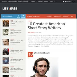 10 Greatest American Short Story Writers