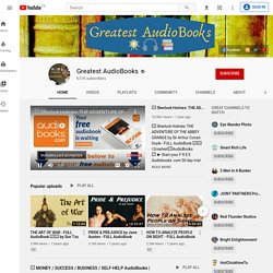 LIVRES AUDIO sur Youtube - (plusieurs idiomes)