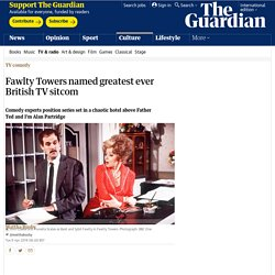 4/9: Fawlty Towers named greatest ever British TV sitcom