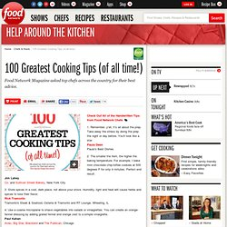 100 Greatest Cooking Tips (of all time!)